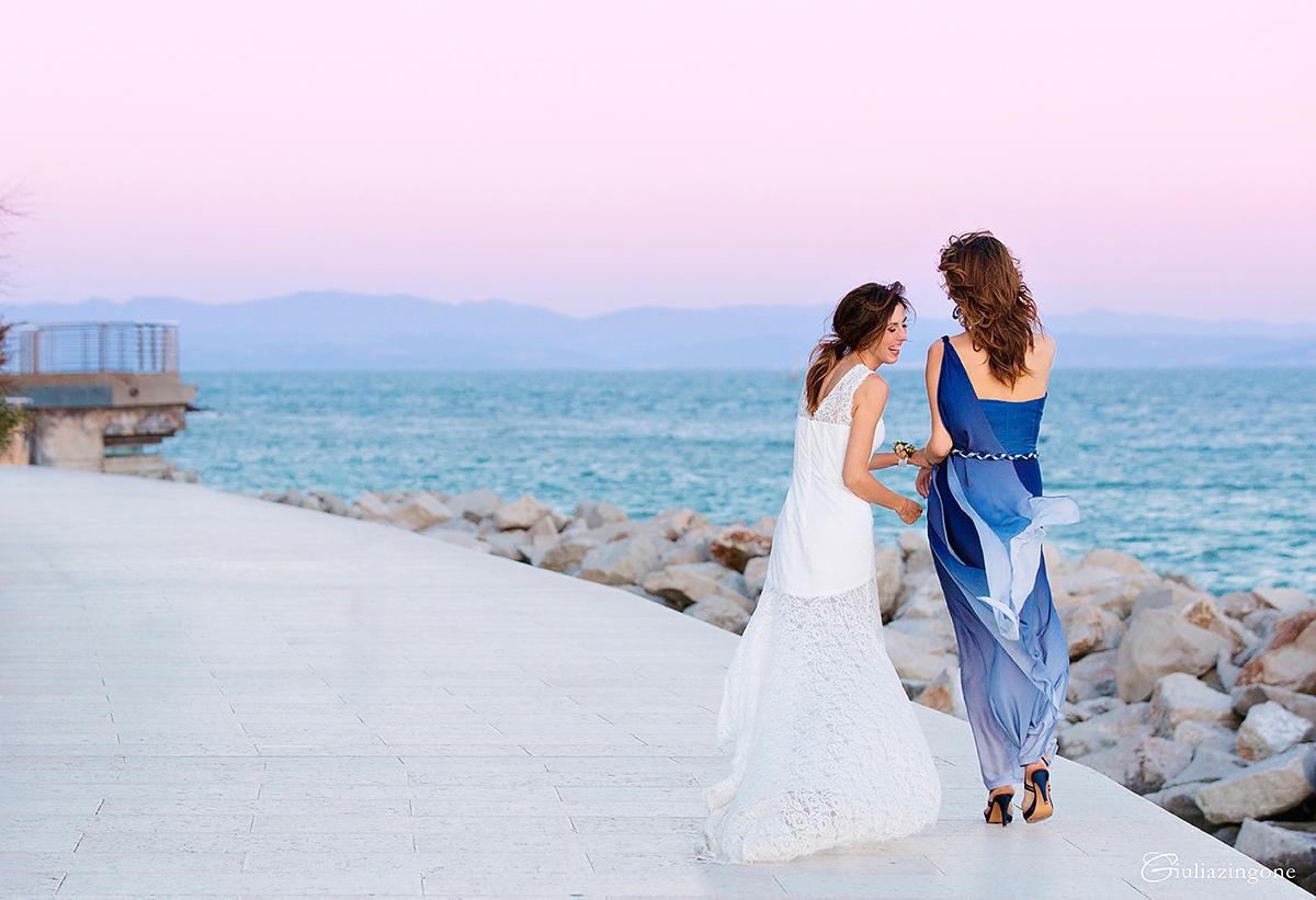 Matrimonio Spiaggia Grado : Matrimonio a grado — giorgia matteo giulia zingone